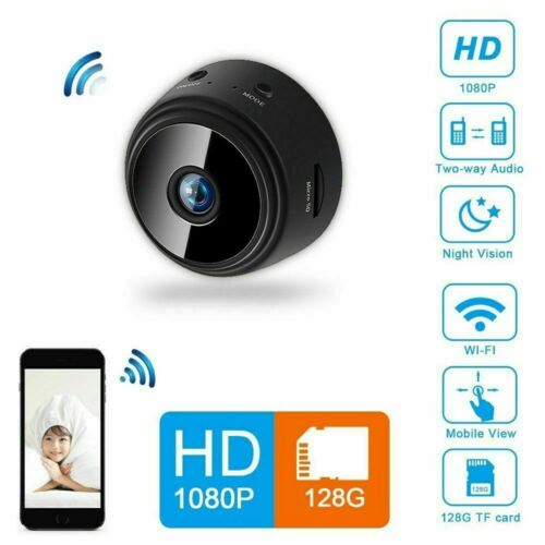 Mini HD Rechargeable1080P Camera Wireless Wifi IP Home Secur