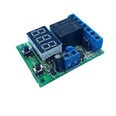 12V/24V Control delay Voltage detection/Upper and lower voltage range switch Low Voltage Detection