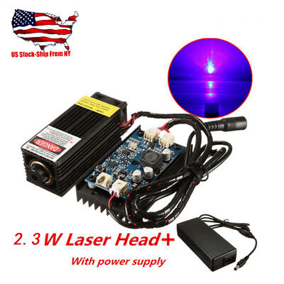 2.3w Laser Head Engraving Module W Ttl For Metal Marking Wood Cutting Engraver
