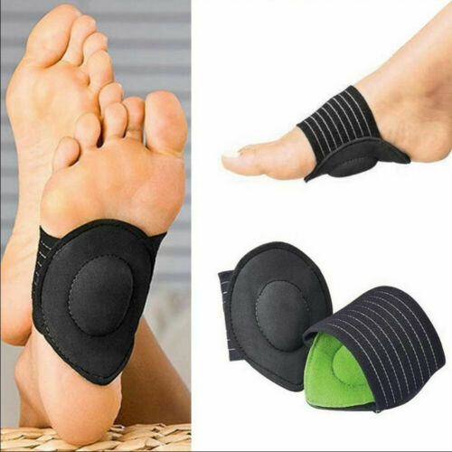 2 Pair Foot Insole Pain Relief Plantar Fasciitis Pads Arch S