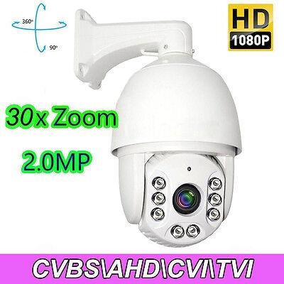 4IN1 30X ZOOM 1080P 2.0MP SONY CMOS Pan Tilt PTZ Camera CCTV Security Outdoor Cmos-pan