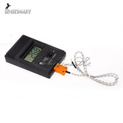 Tm-902c Digital Lcd K Type Thermometer Single Input Thermocouple Probe New
