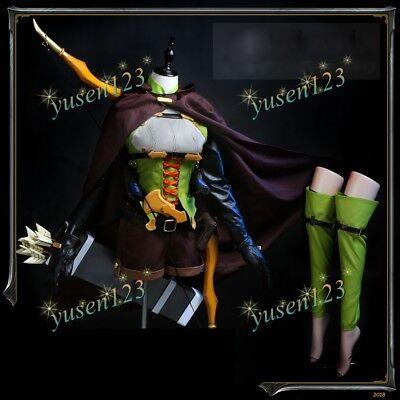 Goblin Slayer High Elf Archer Cosplay Costume Prop Bow Arrow Women Fancy Dress - Goblin Costumes