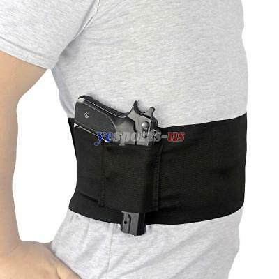 Concealed Carry Waist Holster Belly Band Slim Wrap Handgun Carrier Ambidextrous