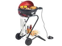 BRAND NEW VONSHEF MOVEABLE ELECTRIC BBQ - RED