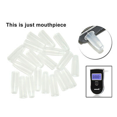 50pcs/bag Mouthpieces for Police Breath Alcohol Breathalyzer Tester 818/828/65S