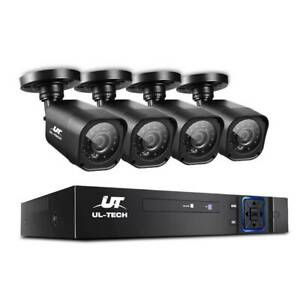 UL-TECH 4CH 5 IN 1 DVR CCTV Security System Video Recorder 4 Came