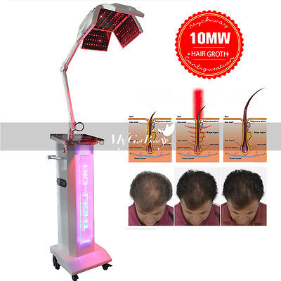 10MW 650nm&670nm 320 Leds Light Bio Stimulate Hair Re-Growth Treatment Machine M