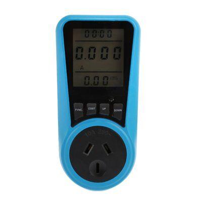 Ac Power Meter 240v 10a Au Plug Socket Digital Wattmeter Watt Energy Meter Timer