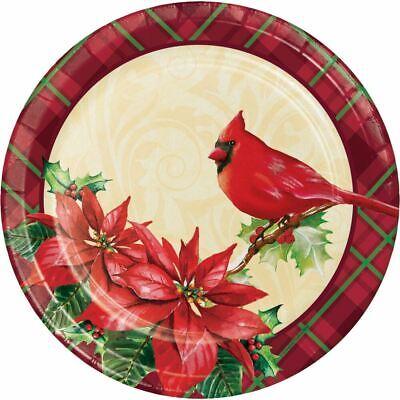 Holiday Cardinal Plaid Paper 8 Ct 9