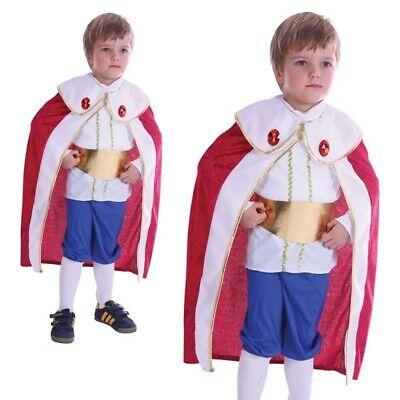 Jungen König Kleinkind Kostüm Drei Kings Weise Herren Prinz Weihnachten Kostüm