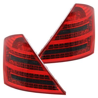 LED Rückleuchten Heckleuchten Mercedes S-Klasse W221 Bj. 05-09 Rot/Schwarz