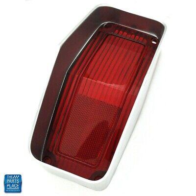 1970 Cutlass 442 Rear Tail Light Lamp Lens Without Trim Reproduction EA