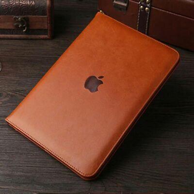 Luxus Leder Case Handle Stand Cover Schutzhülle Etui Für Apple iPad Air 1 &Air 2