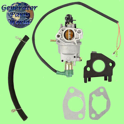 A-ipower Carburetor W Solenoid Gaskets For Sua9000e 7250 9000 14hp Generator