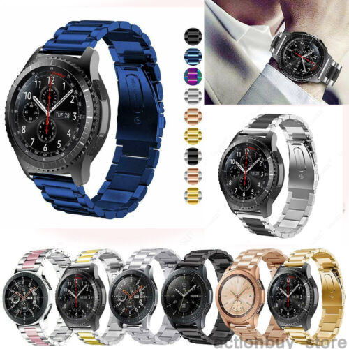Stainless Steel Link Strap Metal Watch Band For Fossil Q exp