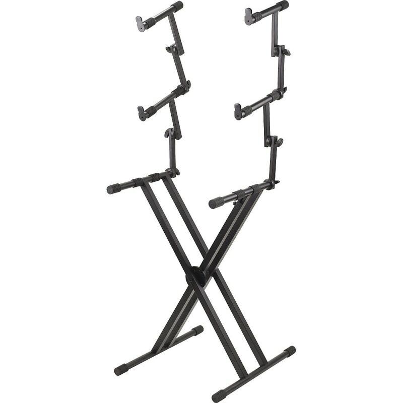 Proline PL403 3 Tier Double X-Braced Keyboard Stand
