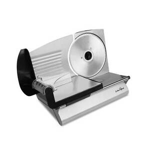150W  Meat Slicer with Stainless Steel Blade - Silver Silverwater Auburn Area Preview