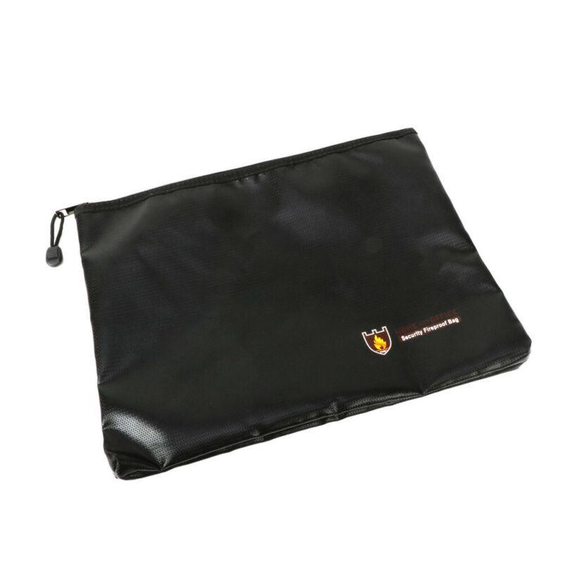 Fireproof Cash Envelope Safe Document Bag