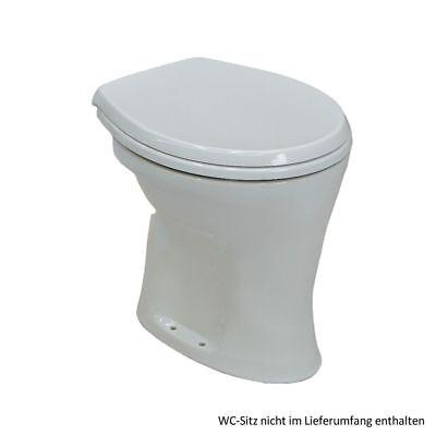 Ideal Standard Eurovit Stand-Flachspül-WC, Abgang innen senkrecht, weiss