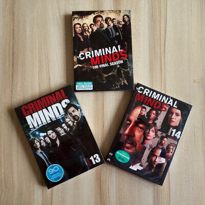 Criminal Minds Season 13 14 15 13-15 (DVD,13-Disc,Region 1 US) Fast Shipping