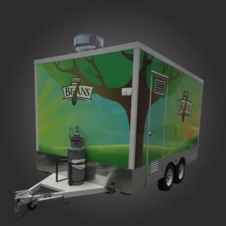 Tandem Food Van Trailer - 4m x 2.4m x 2.2m Campbellfield Hume Area Preview