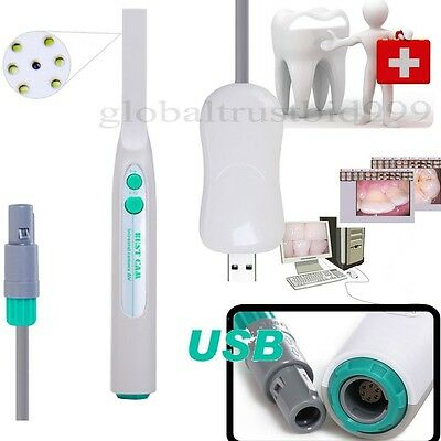 Us Sale Usb 2.0 Dental Intraoral Intra Oral Camera 6 Led Lamps Light Sony Ccd