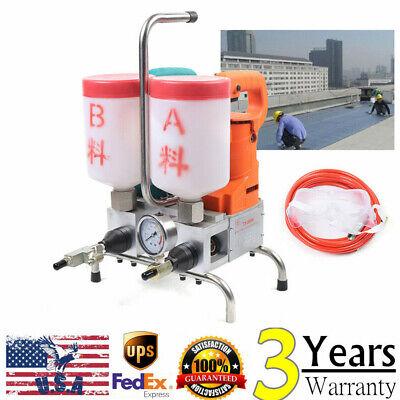 1500w Grouting Machine Epoxy Injection High Pressure Leak Stoppage Machine10kpai