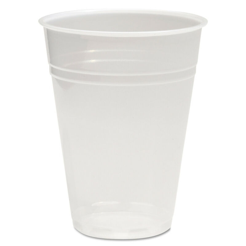 Boardwalk Translucent Plastic Cold Cups, 10oz, 1000/carton TRANSCUP10CT NEW