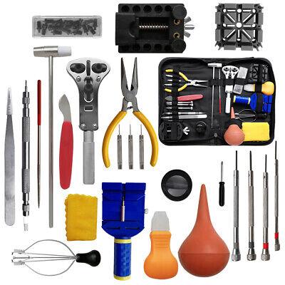 20/21/147pcs Watch Repair Tool Kit Link Spring Bar Remover Watchmaker Back Set