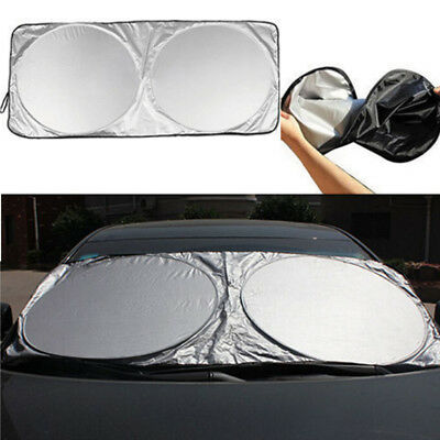 Best Folding Jumbo Front Car Window Sun Shade Auto Visor Windshield Block