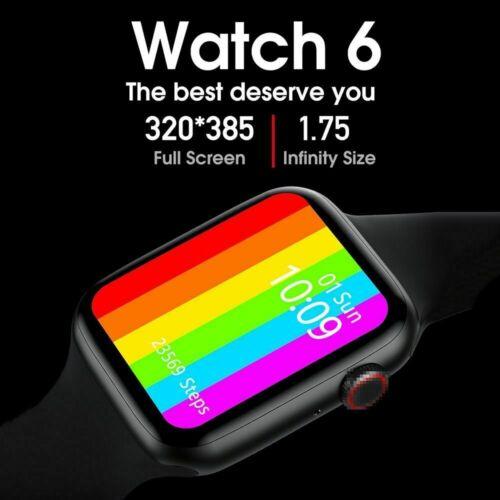 New 2020 Series 6 Smart Iwo 26 44mm Smart Watch w26 ECG Hear
