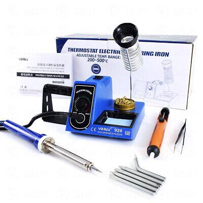 Soldering Iron Station Temperature Adjustable Rapid Heating Bracket Kit