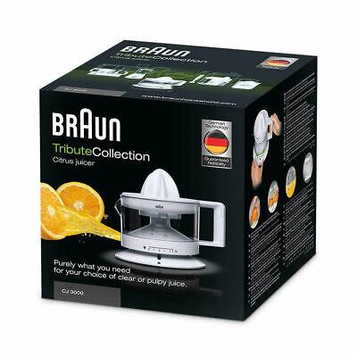 Spremiagrumi Elettrico Braun CJ3000WH 20W 350ml Bianco