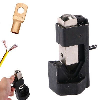 Cable Hammer Terminal Lug Crimper Tool Battery Welding Wire Connector 8to40 Awg