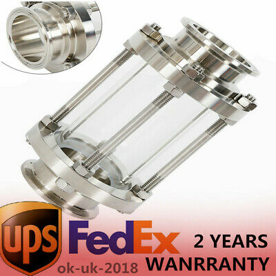 2 Flow Stainless Steel 304 Tri Clamp Sanitary Sight Glass