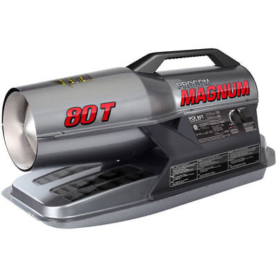 ProCom Kerosene Forced Air Heater - 80,000 BTU, Multifuel, Model# PCK80T Btu Forced Air Kerosene Heater