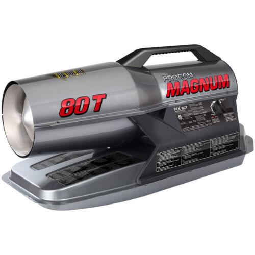 ProCom Kerosene Forced Air Heater - 80,000 BTU, Multifuel, Model# PCK80T