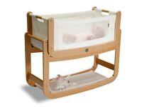 Snuzpod baby bedside crib
