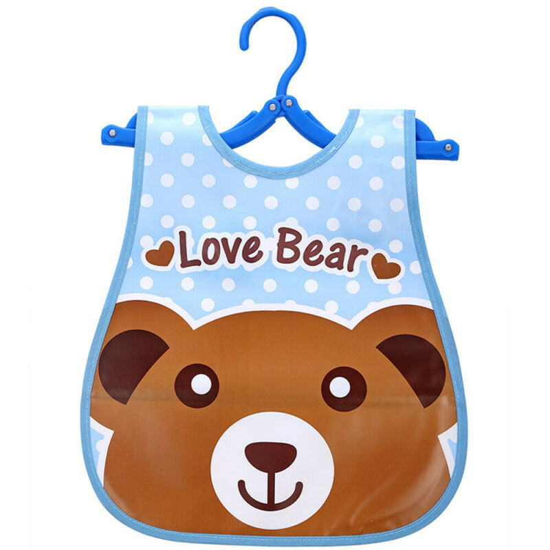 Newborn Cute Kids Bibs Baby Soft Cartoon Bib Toddler Waterproof Saliva Dripping F
