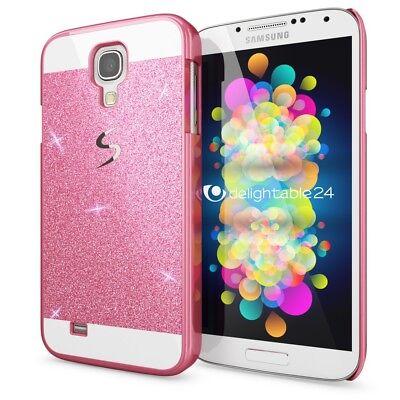 Samsung Galaxy S4 Hülle Handyhülle von NALIA, Glitzer Slim Hard-Case Schutzhülle