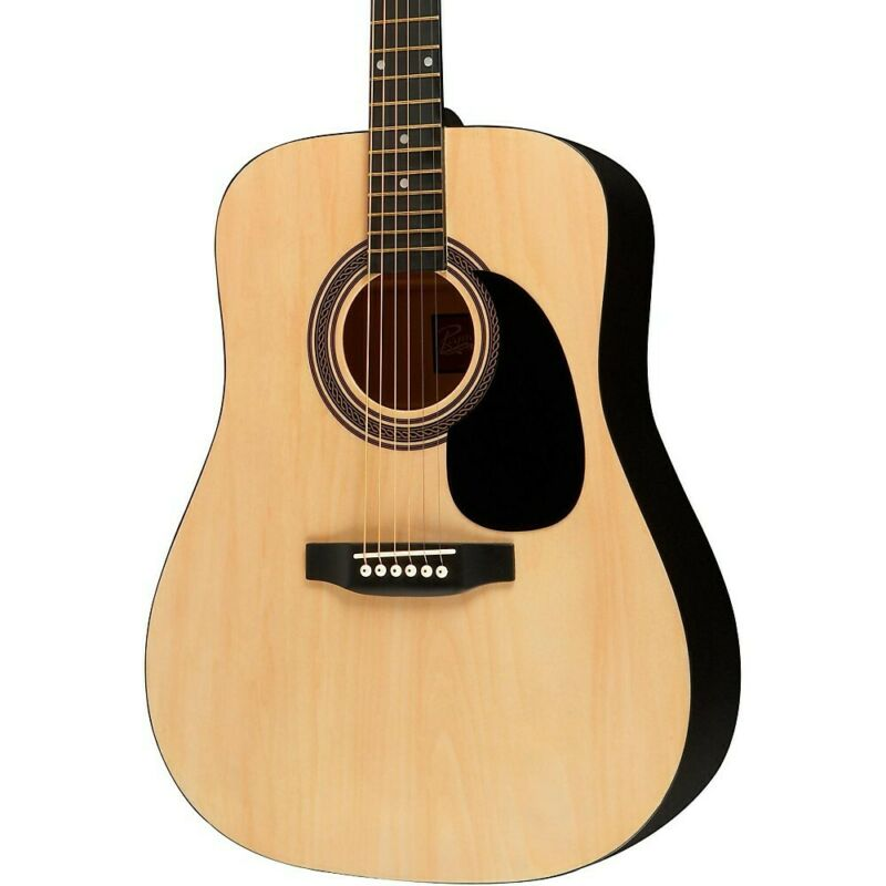 Rogue RA-090 Dreadnought Acoustic Guitar Natural