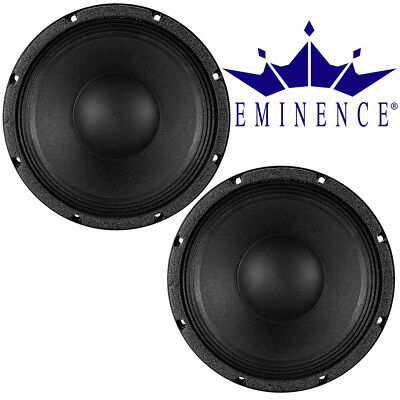 "Eminence KAPPA PRO 10A 10"" inch High Output Speakers 500 Watt RMS Woofer, 2 pcs"