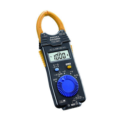 Hioki Cm3289 Ac Clamp Meter True Rms Ac 1000 A Clamp On Hi Tester Trms