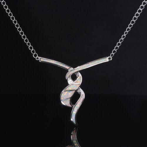 """White Fire Opal CZ Silver Flip Flop for Women Jewelry Gems Pendant 3//4/"""" OD6164"""