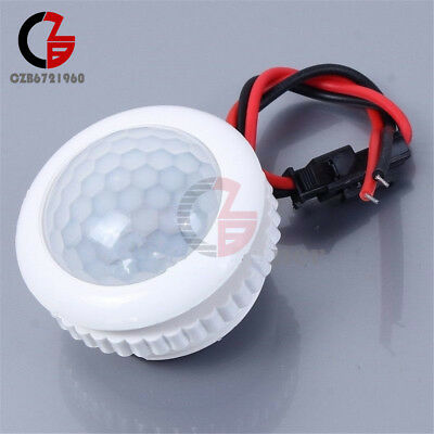 220v Pir Induction Light Control Ceiling Lamp Body Infrared Induction Switch