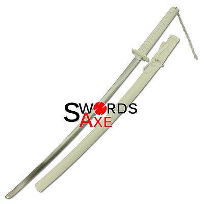 Ninja Sword Bleach Anime Samurai Katana Carbon Steel Cosplay Replica Collectible