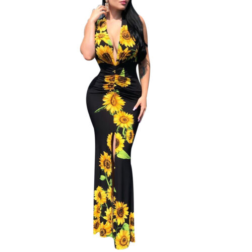 See Me After Sunset Maxi Dress