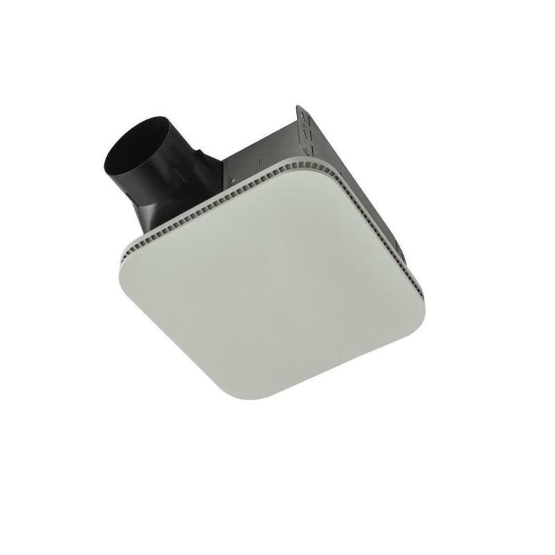 Broan-NuTone Roomside Series 110 CFM Ceiling Bathroom Exhaust Fan w/ CleanCover