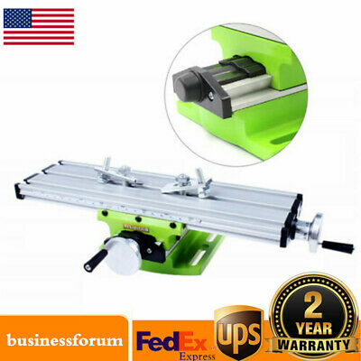 Multifunction Compound Xy Cross Slide Mill Drill Machine Working Tables Usa